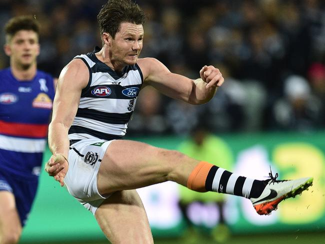 Patrick Dangerfield is widely considered the best player in the AFL.