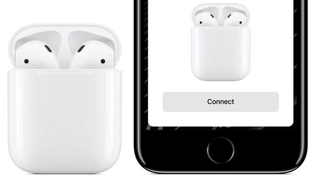 The Apple AirPods were announced alongside the iPhone 7 in 2016, which did away with the traditional headphone jack.