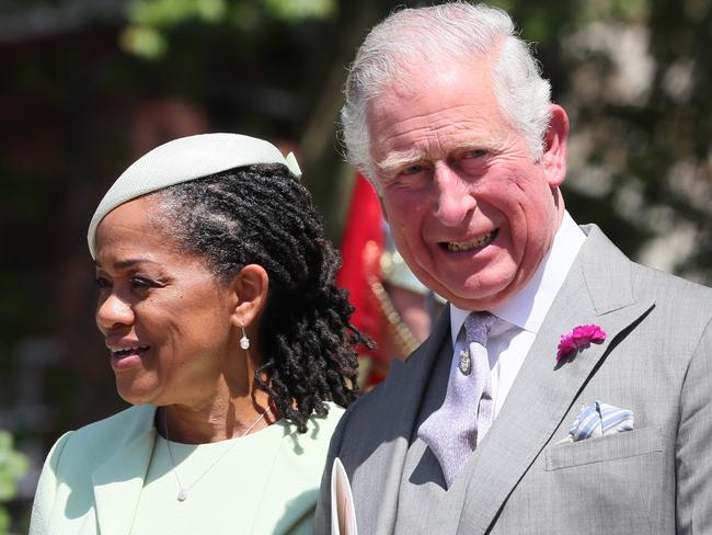 Doria is said to have wowed the royal family when she visited England for the royal wedding, and likewise was impressed by her daughter's in-laws. Picture: Getty Images