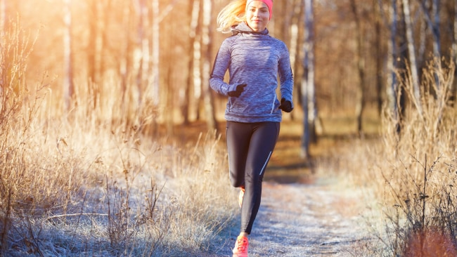 Don't let the cold weather put you off exercise. Source: iStock