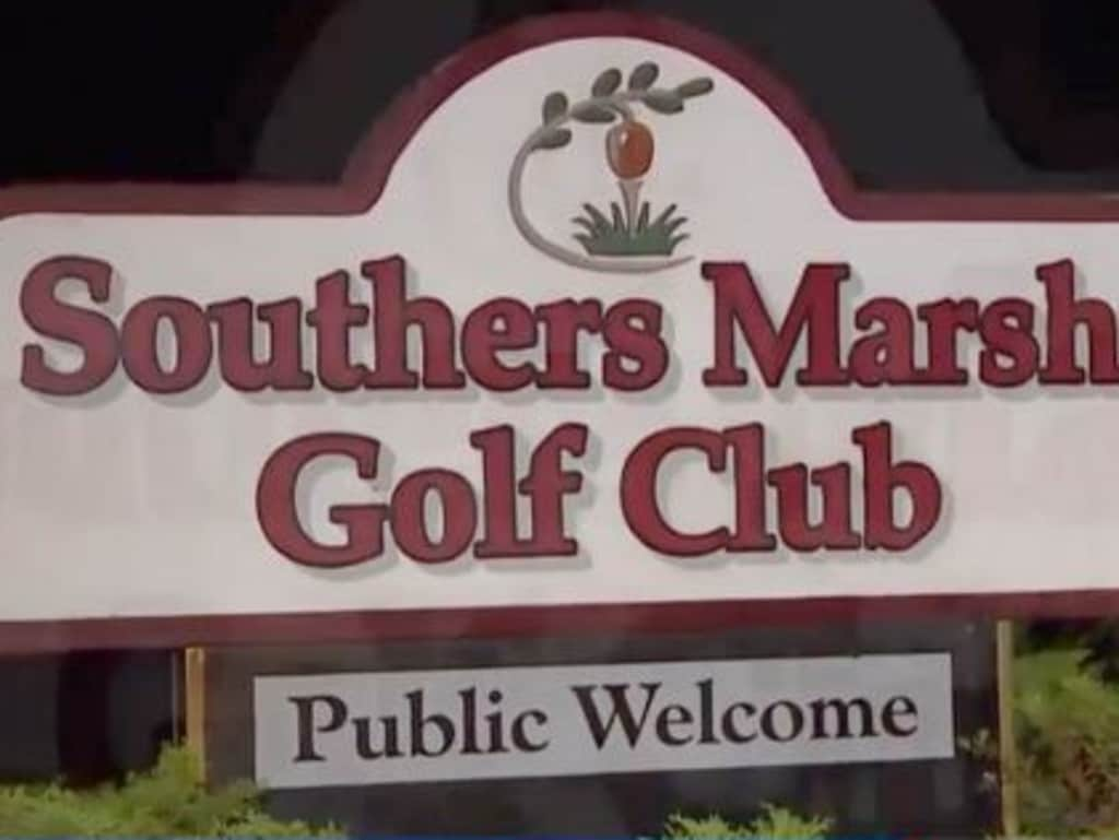 Man's finger bitten off in bizarre golf course brawl.