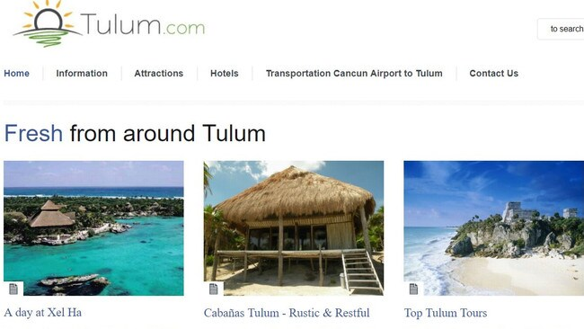 Tourism websites fail to mention the clear waters synonymous with Tulum no longer exists.