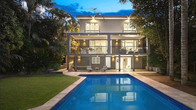 The Bellevue Hill house on Arthur St.