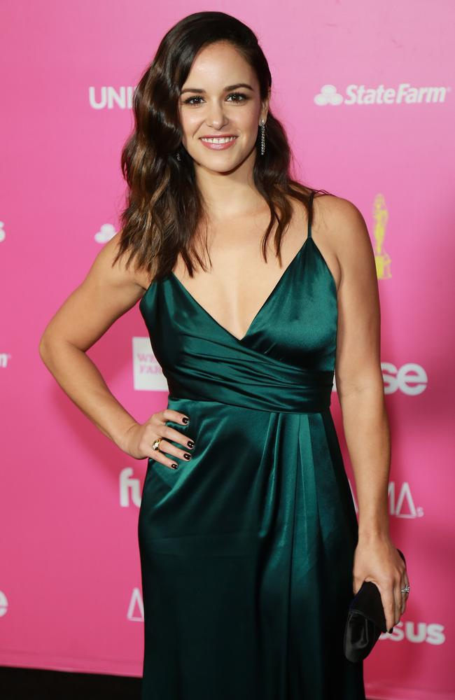Brooklyn Nine-Nine star Melissa Fumero. Picture: Leon Bennett/Getty Images