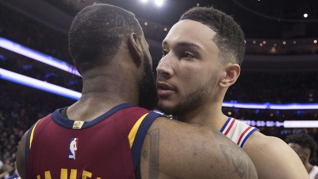 Could LeBron James join Ben Simmons?
