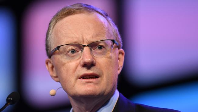 RBA governor Philip Lowe. Picture: AAP