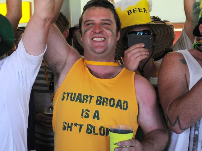Stuart Broad copped it deluxe from Australian fans the last time England toured Australia.