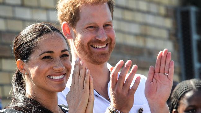 Prince Harry and Meghan Markle need round the clock protection. Picture: Courtney AFRICA / AFP