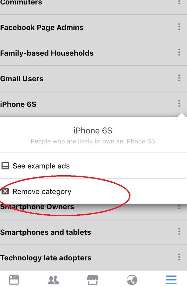The good news? You can alter categories as you please.