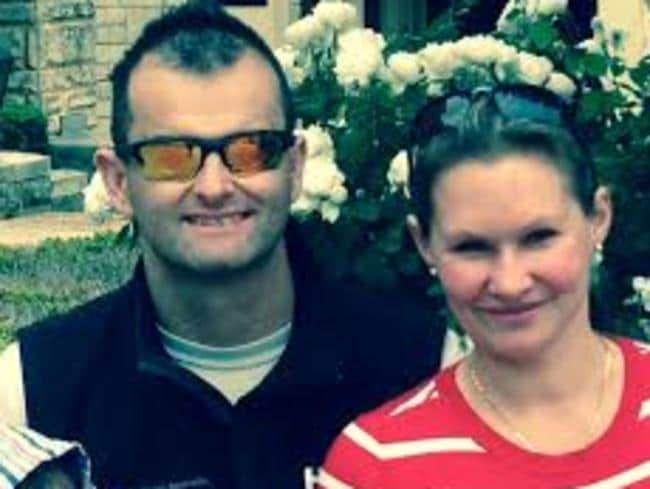 MH370 victim Paul Weeks with his wife Danica.