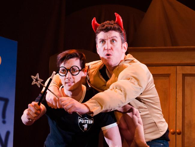 Potted Potter is the perfect show for Harry Potter fans. Photo credit: Emily O'Donnell.