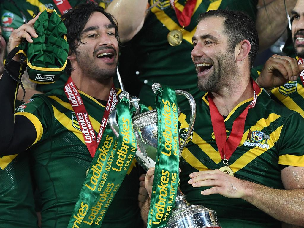 ef940eb4c Johnathan Thurston and Cameron Smith have also conquered the heights for  Australia.