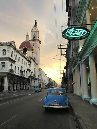 Havana was an eye-opening place. Picture: Lou Blair