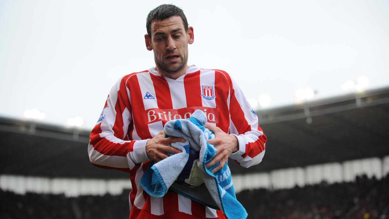 Every Stoke ball boy carried a towel so Rory Delap could dry the ball before taking one of his iconic throw-ins.