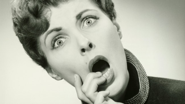 How I imagine my mum's face would look if I told her what my job REALLY entailed. Photo: iStock