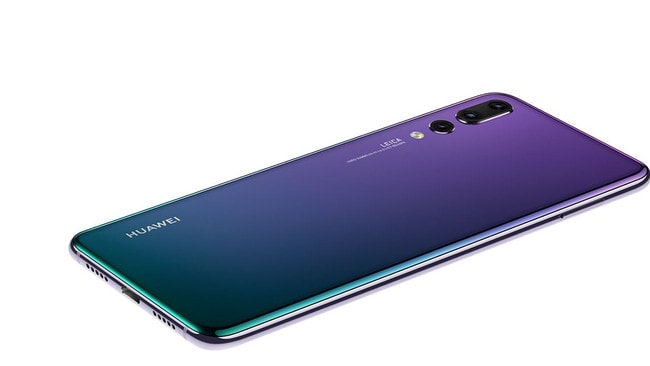 "The Huawei P20 Pro smartphone is the first to feature a Leica ""triple camera""."