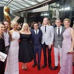 The 2016 AACTA Awards. The Burleigh Brewing team on the red carpet. Picture Instagram