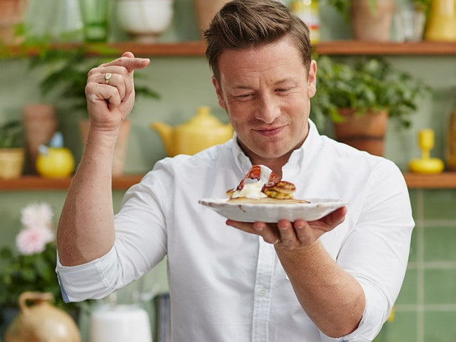 Jamie Oliver is one of the most recognisable chefs in the world. Picture: Supplied