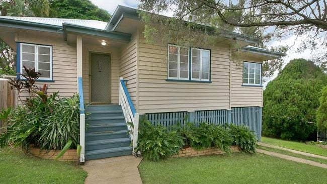 This three-bedroom house at 156 Homestead St, Moorooka, is on the market for $609,000.