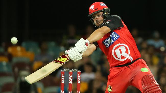 Aaron Finch will run out for the Renegades again this season. Picture: Jono Searle