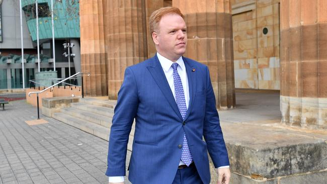 Richard Boyle outside a court in Adelaide on July 30. Picture: AAP