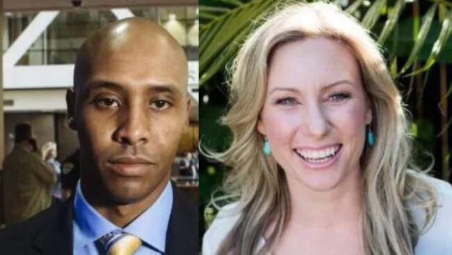 Mohamed Noor and Justine Damond.Source:Supplied