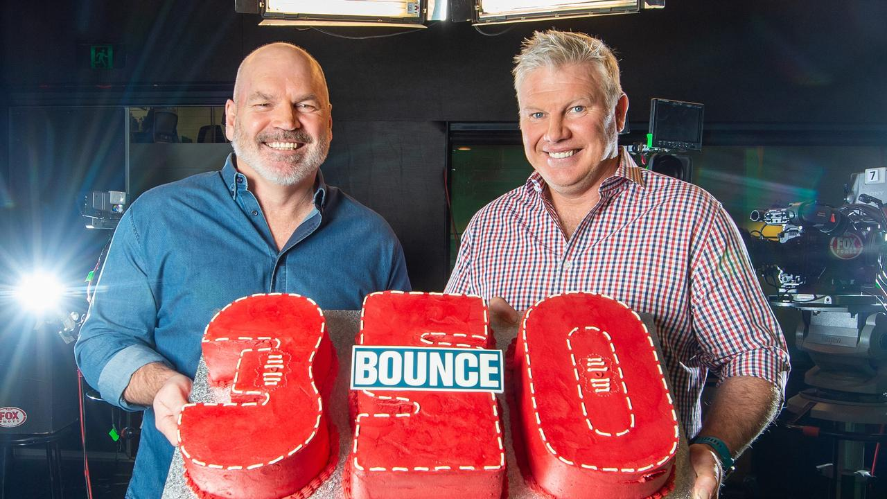 Jason Dunstall (left) will be part of the tribute show for Danny Frawley. Photo: Jay Town