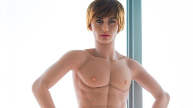 This Justin Bieber look-alike sex doll is selling out fast. Picture: AliExpress