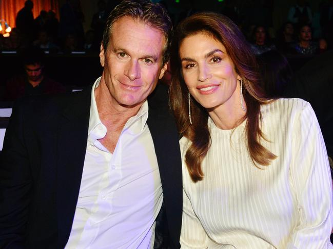 Good genes: Rande Gerber and wife Cindy Crawford, parents to Kaia Gerber. Picture: Getty Images.
