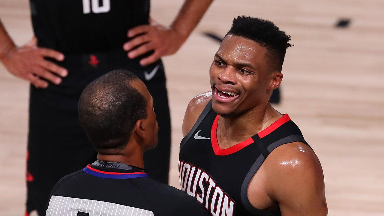 Russell Westbrook also wants out of Houston.