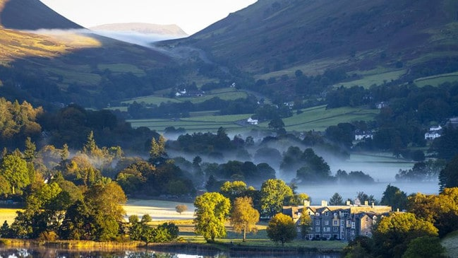 Tony Wheeler says Grasmere, in the UK's Lake District, is one of his favourite spots.