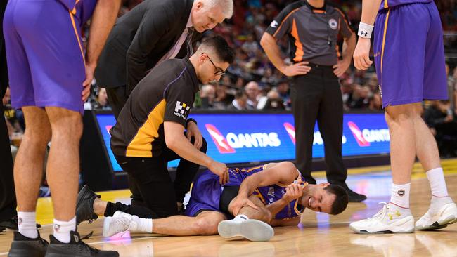 The Kings' season took another turn when Kevin Lisch went down with a calf tear.