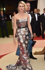 "Actress Naomi Watts attends the ""Manus x Machina: Fashion In An Age Of Technology"" Costume Institute Gala at Metropolitan Museum of Art on May 2, 2016 in New York City. Picture: Dimitrios Kambouris/Getty Images"