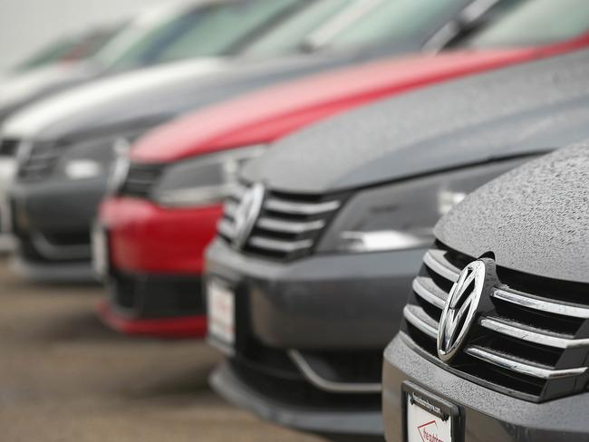 Growing numbers ... The Volkswagen diesel scandal that started with 486,000 cars in the US has now gone global and roped in 11 million vehicles, including those from other VW-owned brands such as Audi and Skoda. Picture: Scott Olson/Getty Images/AFP