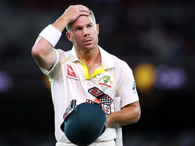 David Warner has not made public comments about the incident. Picture: Mark Kolbe/Getty Images