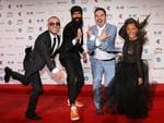 L-Fresh The Lion arrive on the red carpet for the 30th Annual ARIA Awards 2016 at The Star on November 23, 2016 in Sydney, Australia. Picture: Getty