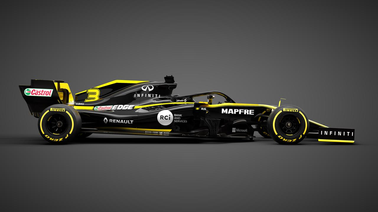The black and yellow is one of the more striking liveries.