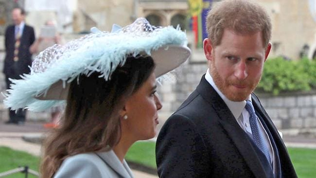 Harry steps out without Meghan