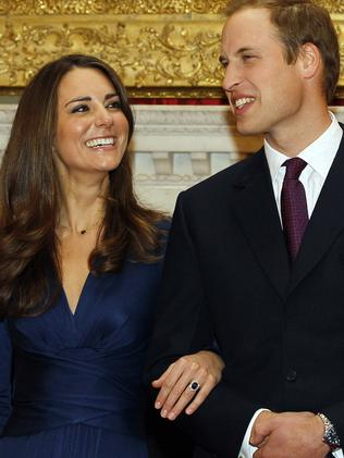The couple will appear in a photo call on Monday similar to the one Prince William and Kate Middleton took part in in 2010 after their engagement announcement. Picture: AP Photo/Kirsty Wigglesworth, File.