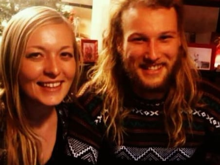 Murdered Australian Lucas Fowler and his American girlfriend, Chynna Deese. Picture: Supplied