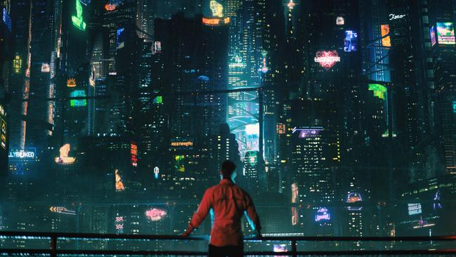 A dark-hearted neon metropolis — Altered Carbon is set 350 years in the future.