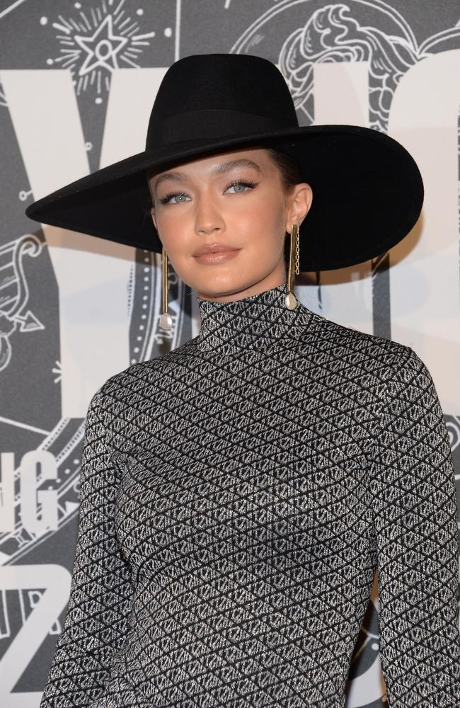 Gigi Hadid wearing TOMMYXZENDAYA. Picture: Getty Images
