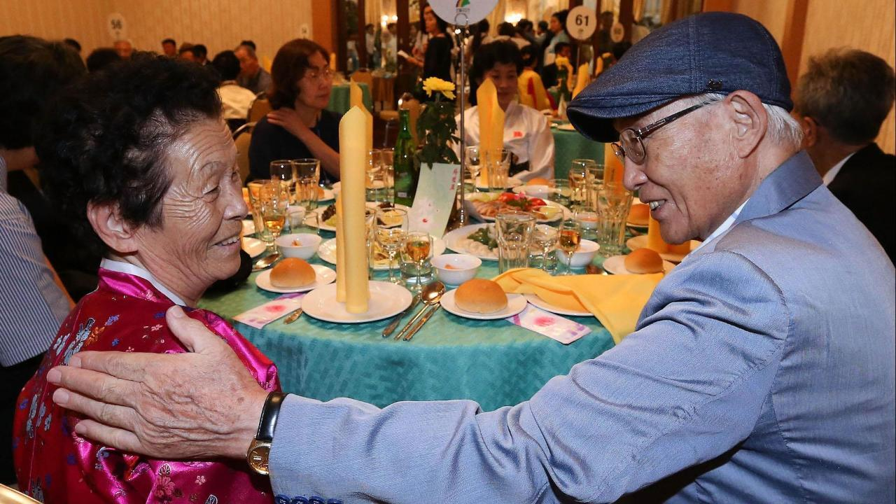 North and South Korean Families Meet After Decades of Separation