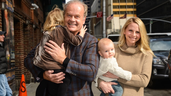 Kelsey and Kayte with two of their three children. (Photo by Ray Tamarra/WireImage)