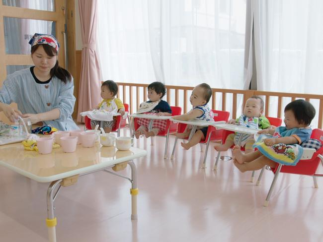 One of the biggest barriers to women working in Japan is a lack of long daycare centres. Picture: Matthew Allard/Al Jazeera