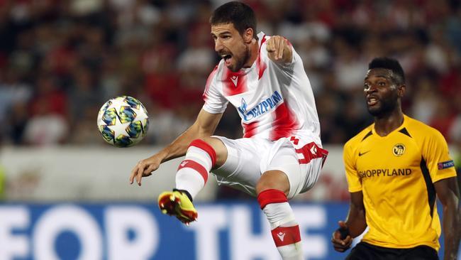 Milos Degenek gets more time in Europe's premier club competition.