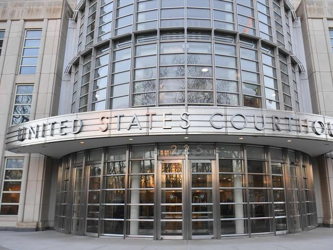 The US Federal Courthouse in Brooklyn where the notorious drug lord has been on trial. Picture: AFP