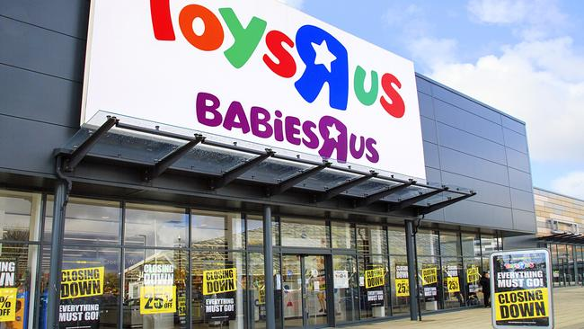Once a disrupter, Toys 'R' Us has been hit hard by the latest wave of disrupters. Picture: Supplied