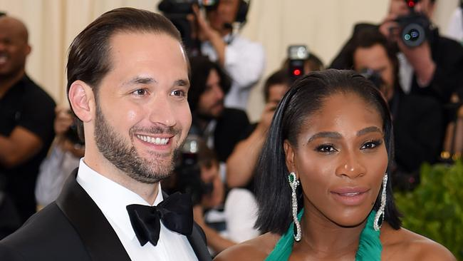 Alexis Ohanian married tennis champ Serena Williams on November 16, 2017 — on his late mother's birthday. Picture: AFP Photo/Getty Images North America/Dimitrios Kambouris