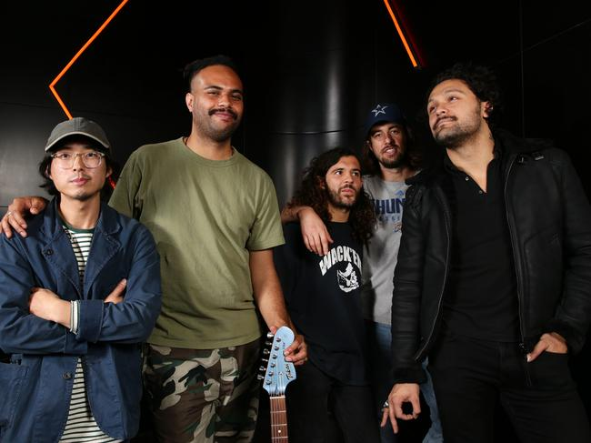 Gang of Youths announced the festival just months before their Aussie tour. Picture: Jonathan Ng